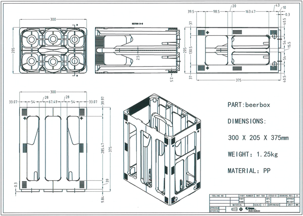Plastic Injection Moulding drawing